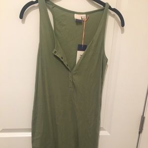 Roxy Midi Henley Dress size XS (small)